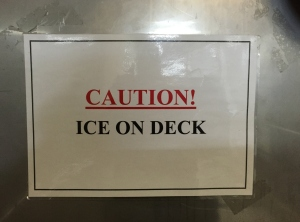 Ice on Deck