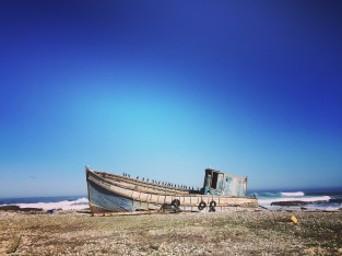 Wrecked Fishing Vessel