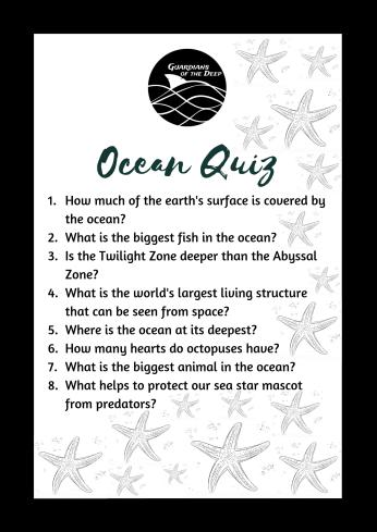 SeaStars - Ocean Quiz
