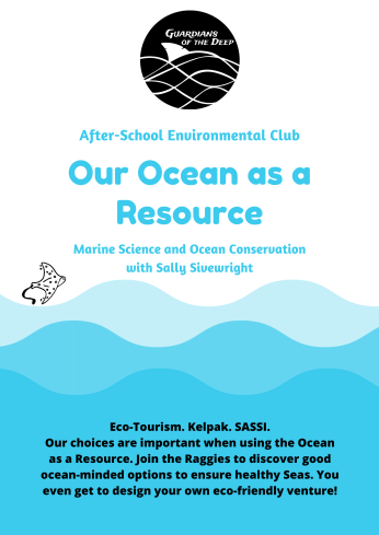 Raggies - Term 3 - Our Ocean as a Resource Poster