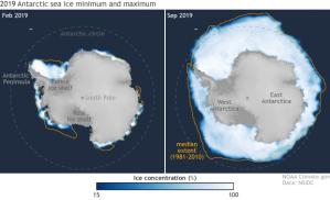 Sea Ice Extent - NOAA